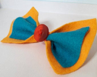 Pokemon inspired Charizard hair bow