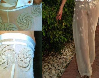 Haute Couture Pants Handmade