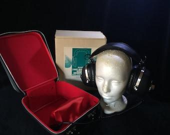 2-Way Radio Stereo Headphones, Still in original box and case. Rich's