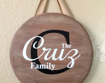 Established Sign, Personalized Family,  Custom Last Name Wood Sign, Great Gift! Home Decor,