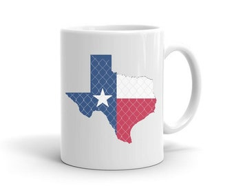 Texas Flag Mug, Texas Flag, Texas, Texas Flag Coffee Mug