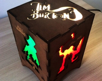 Tim Burton night light lamp