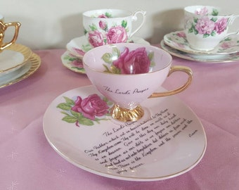 Tea Cup and Suacer