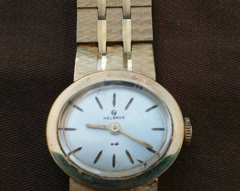 Vintage ladies Helbros working wind up watch