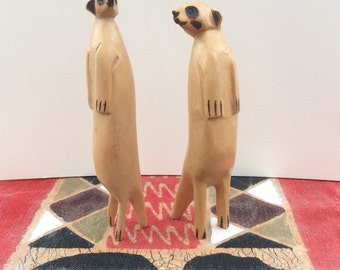 Cute Pair of Meerkats
