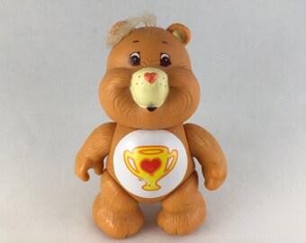 Care Bears Bisounours Champ Bear Poseable Figure