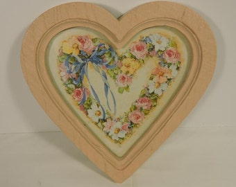 Heart Shaped Picture Frame Home Interior