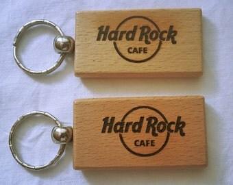 Hard Rock Cafe Keyring Keychain Hardrock/Portachiavi