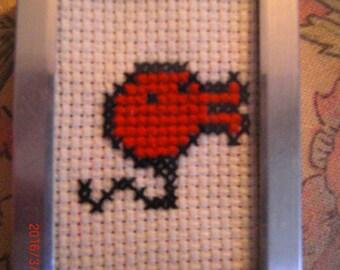 tamagotchi cross stitch