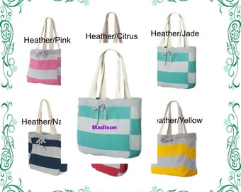 FREE SHIPPING Beachcomber Embroidered Tote