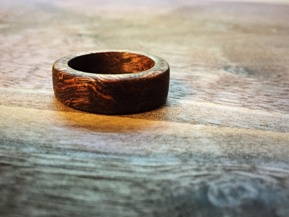 Custom Made Wooden Ring - Made/Sized To Order - Great as Wedding Bands! Rustic / Modern Jewelry