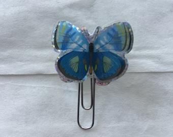 3D Butterfly Paper Clip