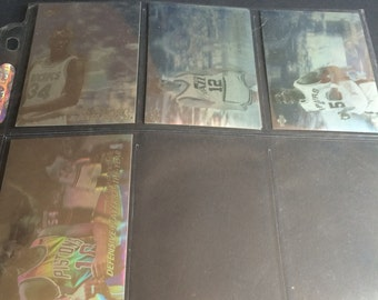 Vintage 1991-92 Upper Deck Basketball Hologram Collectible Cards - Set Of 5 Cards