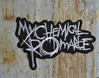 Chemical Extreme Music Thrash Heavy Iron On Sew On Patch Transfer