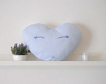 Heart | pillow | nursery decor | stuffed animal | elephant