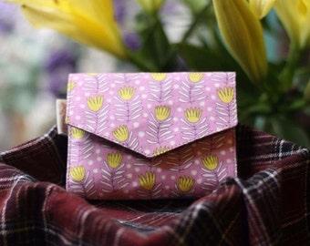 Mini Purse: Yellow flower