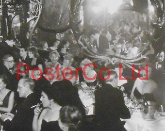 "Brassai, (Gyula Halász) Gala night at Maxim's, 1949 (Framed Picture 16"" x 12 "")"