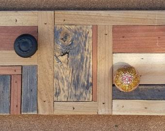 Reclaimed Wood Coat Rack