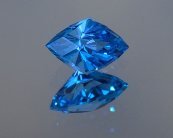 Electric Vivid Blue Topaz - Marquise - 1.95 ct