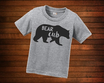 Customizable bear shirts for all of the bear cubs in your life!