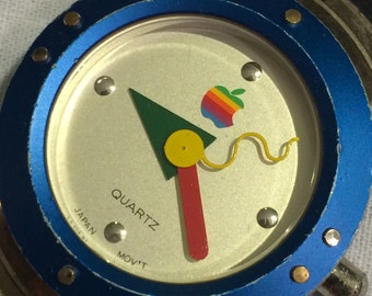 Vintage 90's Apple Mac OS Wrist Watch WORKING!
