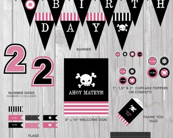 Pink Pirate Party COLLECTION