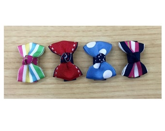 SALE - 4 assorted small bows