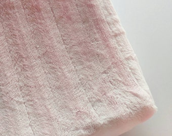 Pink Faux Fur Changing Pad Cover, Minky Changing Pad Cover, Pink Changing Pad Cover Girl, Girl Changing Pad Cover