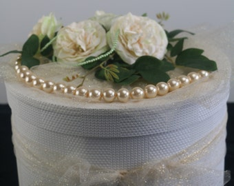 The Grace - Wedding Wishing Well, Wedding Card Box, Wedding Keepsake