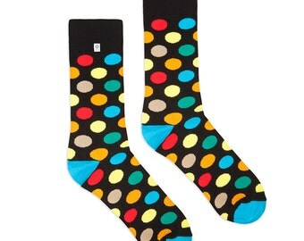 Colorful Dots Socks