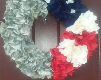 Military/Patriotic Wreath