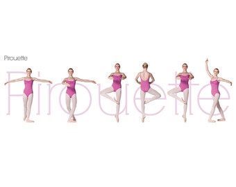 Pirouette Poster (Pink)