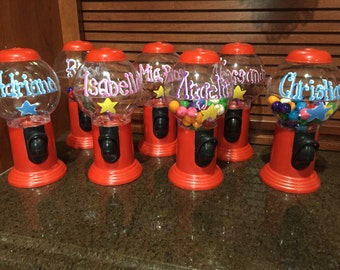 Personalized Gum Ball machine