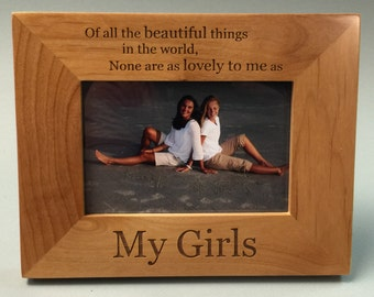 My Girls Frame,