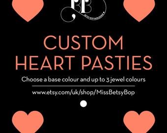 Custom Heart Pasties