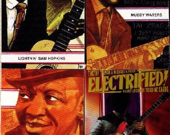ELECTRIFIED! Blues Legends Trading Card Set, 1993