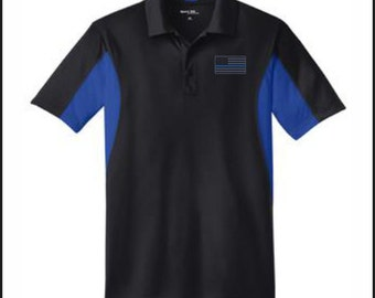 LEO MEN'S POLO with Embroidered Logo