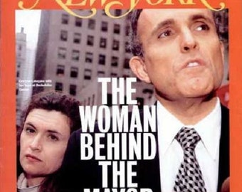 "New York ""The Woman Behind The Mayor"" Magazine [ 9-25-1995 issue ]"