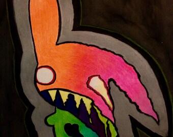 Melting Rabbit by Rabbit KM