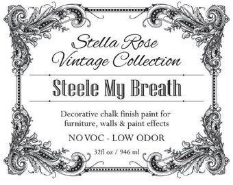 Steele My Breath - Chalk Finish Paint