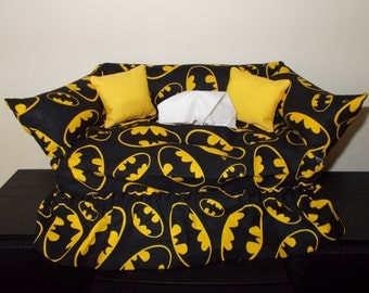 Batman Couch Tissue Box Cover