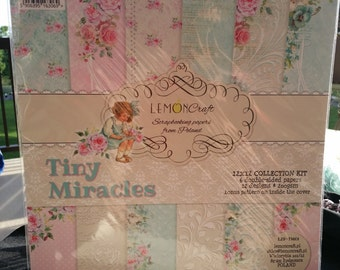 12x12 Lemon Craft Tiny MIracles paper pack