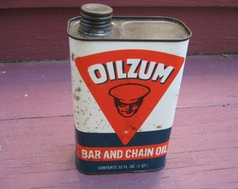 Oilzum Bar and Chain Oil 1 Qt Can