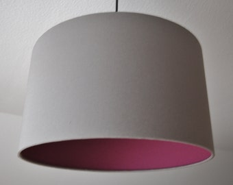 """Lampshade """"Old pink-stone grey"""""""
