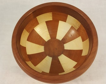 decorative segmented bowl