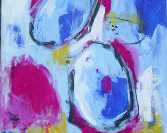 Modern painting 90x90cm / 35, 5 x 35, 5 inch