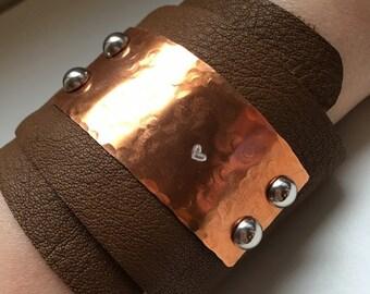 Take Heart : Cuff Bracelet