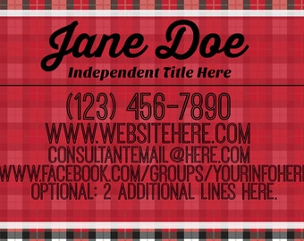 Thirty-One Gifts Consultant Inspired Business Card Template