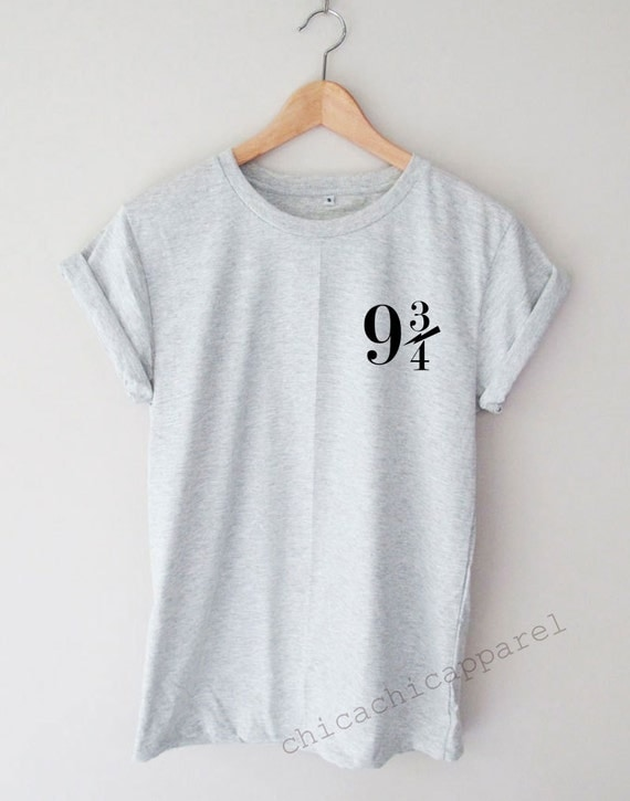 Platform 9 3 4 Shirt Tumblr Hipster T Shirt Unisex Smlxl