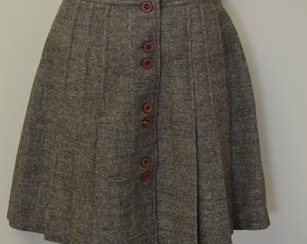 1960's/1970's wool mini skirt